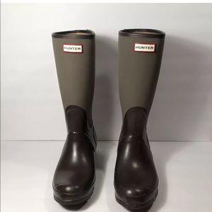 Hunter Olive Green Size 10 Arlen Rain Boot